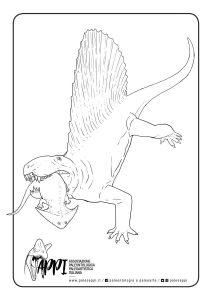 Dimetrodon e Diplocaulus