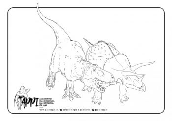 Tyrannosaurus e Triceratops